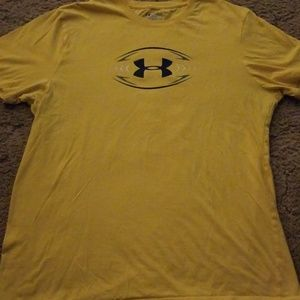 Under armour football tshirt